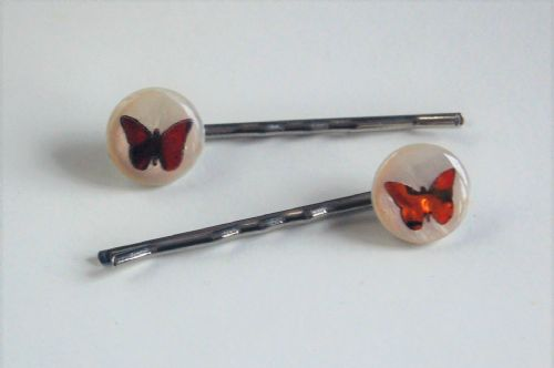 Hairclips - Butterfly WAS £7